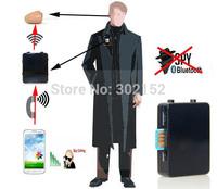 4.5 Watts Long Distance Powerful GSM BOX with Wireless Mirco Hidden Earpiece Black Color