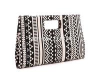 Bohemian handbags women,The fashion geometric pattern hand bag, bolsas femininas 2014