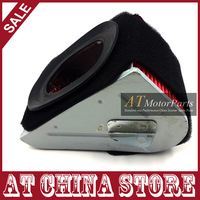 Gy6 125cc 150cc 152QMI 157QMJ Triangle Air Filter Chinese Scooter Moped Taotao Jonway VIP JCL