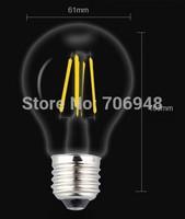 E27 Warm white 4W led candle bulb ac110-240v for crystal light