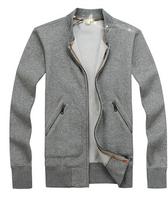 2014 New High Quality Men Zipper Jacket Brand Jacket Warm Jacket Free Shipping M-XL