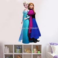 ZooYoo Original Frozen Anna Elsa Wall Stickers Movie Decal Removable Wall Sticker Home Decor Art Kids /Nursery ZY1420