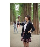 Free Shipping Women Clothing ,Women Black Blazer & Suits ,Single Breasted Blazer Winter Autumn Coat