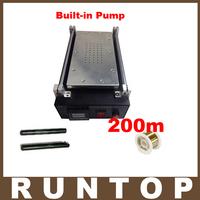 Mobilephone Built-in Pump Vacuum Metal Body Glass LCD Screen Separator Machine Max 7 inches + 200m Cutting Wire