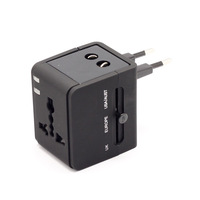 Best Quality Business Multination Travel Adapter 100V-240V Universal Socket AU/US/EU/UK  Power Plug With USB Adapter Charger