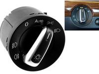 New Free Shipping Auto Euro Chrome Headlight Fog Lamp Switch For VW Golf Jetta GTI MK5 MK6 Passat B6 CC Tiguan 5ND 941 431B
