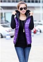 Winter's Vests Outwear Coats Women Winter Vest Fashion Cotton Coats for Women Winter Waistcoat Plus Size Free Shipping