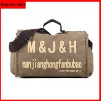 Free Shipping New Korean fashion casual letter M shoulder bag Messenger/canvas bag handbag