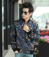 print men jacket casual winter Autumn jacket mens brand designer clothes Men Coat Zipper outwear