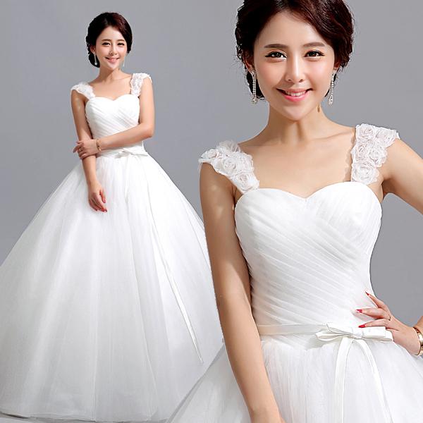 Primavera nova chegada 2014 V-neck fenda decote trem rabo de peixe de noiva de renda vestido de noiva vestido formal(China (Mainland))