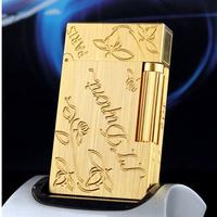 Dupont STDupont Dupont lighter gas lighter brushed gold broke Clover