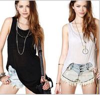 2015 Summer  Fashion Women Cross the small sexy backless vest, Casual Sport Condole Belt Vest Tank Tops waistcoat Free shipping
