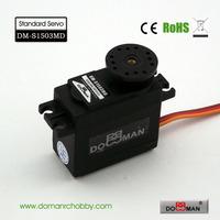 DOMAN RC DM-S1503MD 56g/0.17s/15.8kg.cm 300degree rotation robot servo metal gear 15kg digital servo