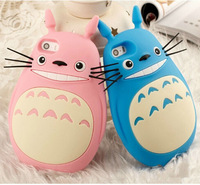 New Arrival Fashion Catoon Totoro Cat Silicon Material Phone Case For Apple Iphone 5 5S YC038
