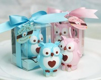 [1pc] Child birthday party supplies birthday candle smokeless candle owl small candle gift wedding candle