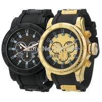 Quartz Business Men Sports Watches Men Military Wrist Watches Casual Full Steel  Rubber band Men Watch Reloj Relojes