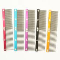 Armi store 62004 Pet Dog Comb Snow Sculpture Design Grooming Comb For Dogs Salon  5 Color M L Wholesale