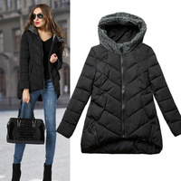 Free shipping Fashion Ladies' jacket women Winter Slim Zipper coat promotion item