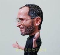 Apple CEO my idol Steve Jobs ALL NEW jobs figure resin material doll Artificial Sculpture Souvenir Toys -A022