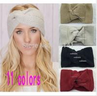FREE SHIPPING,Knitted Turban headband for women Ear Warmer twist wide hair band