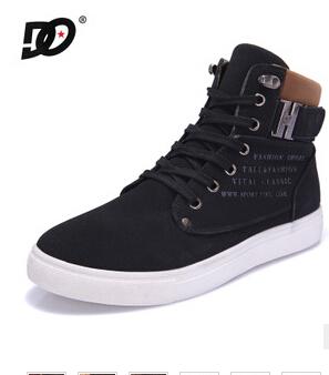 2014 nouveau printemps et l'automne chaud les hommes de haute chaussures de sport mode bottes pour hommes chaussures de sport xmb032 street