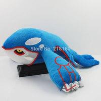 "Free shipping 14.5""37cm plush toy Pokemon Kyogre Plush Toy Stuffed Doll  1pcs"
