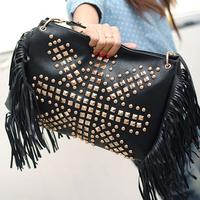Women handbag Tassel Messenger Bags Fashion PU Women Bag Tote HB-222