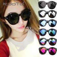 2014 women's fashion sunglasses vintage sunglasses star style oversized circular frame sun glasses