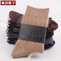 High content of wool socks new handmade bone needle thermal socks wool men's sock calcetines meias meias masculinas