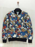 3D Printing Jacket Sweatshirt Donald Duck