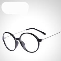 2014 New Ultra thin steel legs Round Eyewear Eyeglasses Spectacles Frame Glasses Optical myopia Frame Plain Glasses