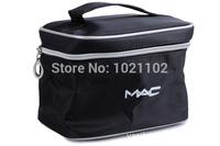 2014 New Women Cosmetic Bag Two Layer Zipper Makeup Bag High Quality Women Storage Bag Toiletry Bag