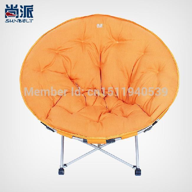 oversized preguiçoso lua cadeira dobrável cadeira sofá reclinável disco pano varanda cadeira do lazer cadeira de sesta radar(China (Mainland))