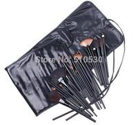 32 Pcs/Set Professional Makeup Brush Set Cosmetic Make up Brushes Tool Kit / Sets Kolinsky Hair & Wool Makeup Tool free shipping