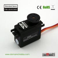 DOMAN RC DM-S0303MD 56g/0.14s/3.5kg.cm metal gear 300degree robot used 3kg digital servo