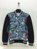 3D Printing Jacket Sweatshirt Graffiti