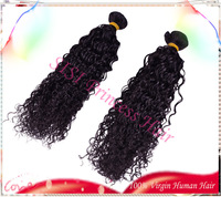 """Hot Sale 8""""-30"""" 3pcs lot Brazilian Deep Wave Curly Virgin Human Hair Weaves Can Be Dyed DHL FREE HF06"""