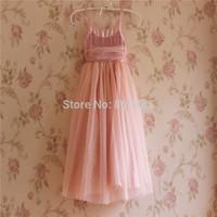5pcs/lot Wholesale Korean princess dress christmas  sleeveless Sequin straps dress red pink beige