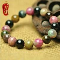 Aesthetic natural tourmaline bracelet natural bracelet female 8mm-10mm