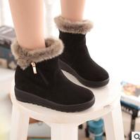 fashion new 2014 winters short boots  women's warm  short  boots inside velvet