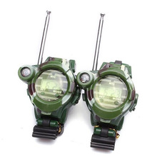 Scolour 2PCS Children Toy Walkie Talkie Child Watches Interphone Outdoor Freeshipping