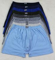 Middle-Aged Men'S Boxer Shorts Plus Size 100%Cotton Men'S Calecon Homme Underwear Man Fat Pants Xxxl calzoncillos 5Pcs/Lot Nh18