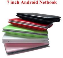 7 inch laptop android 4.2 OS VIA 8850 netbook dual core HDMI USB port webcamera gaming laptops cheap(China (Mainland))