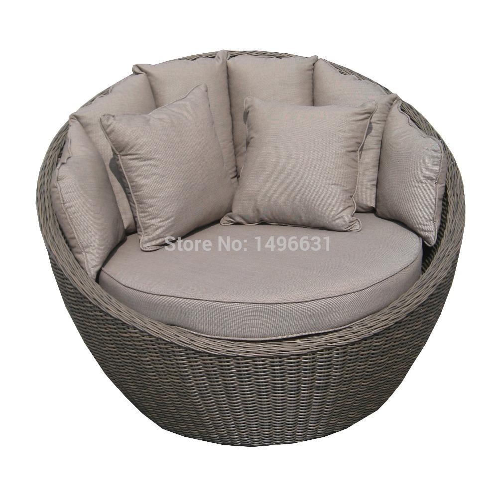 Online Kaufen Großhandel rattan garden daybed furniture ...