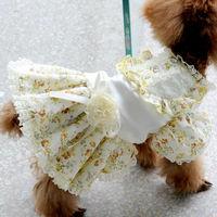 Armi store Pet Dog Floral Lace Princess Dress 71018 Dogs Fashion Dress