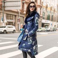 Hetyy 2015 winter female medium-long down coat slim thickening winter plus size outerwea down jackeWomen's Clothingt