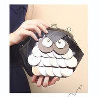 Womens Cross-body Wallet Coin Purse Shoulder Bags Owl Female Messenger Handbag