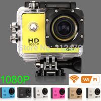 Original! WiFi Version SJ4000 WiFi 1080P Full HD GoPro Camera Style Extreme Sport DV CAR DVR Action Camera Diving 30M Waterproof