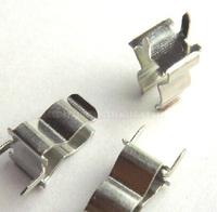 100PCS 5 * 20 Insurance tube clamps  glass/ceramic tube fuse clip Insurance header Insurance seat free shipping -12000183