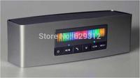 Promotion Wireless speaker CH-243 HIFI portable bluetooth speaker double subwoofer louderspeaker +colorful light Christmas gift